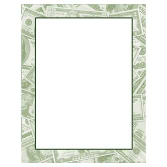 Money Letterhead - 25 pack
