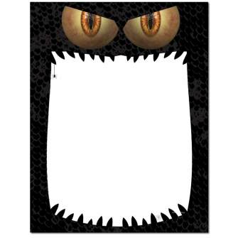 Monster Mouth Letterhead - 100 pack