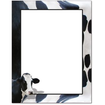 Moo Cow Letterhead - 25 pack