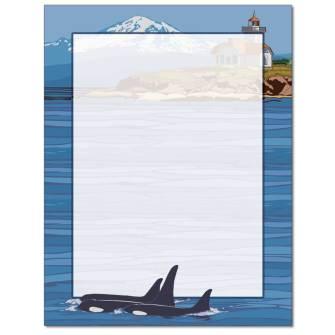 Orca Letterhead - 25 pack