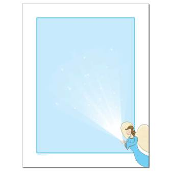 Painted Angel Letterhead - 25 pack