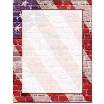 Painted Glory Letterhead - 100 pack