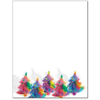 Painted Tree Letterhead - 25 pack