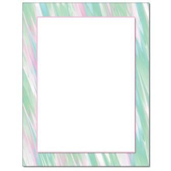 Pastel Sketch Letterhead - 25 pack