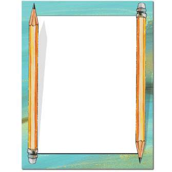 Pencils Letterhead - 100 pack
