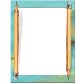 Pencils Letterhead - 25 pack