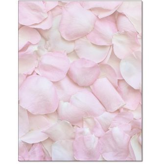 Petals Letterhead - 25 pack