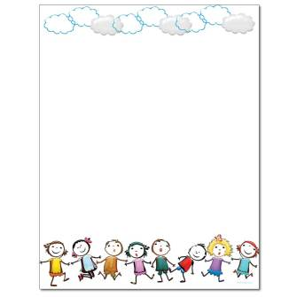 Play Together Letterhead - 100 pack