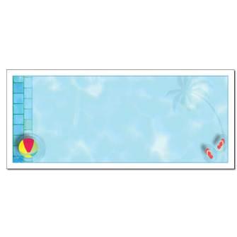 Pool Party Envelopes