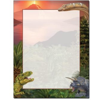 Primordial World Letterhead - 25 pack