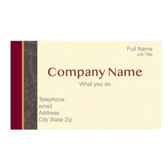 Provence Custom Business Card