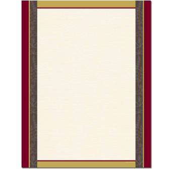 Provence Border Paper - 100 pack