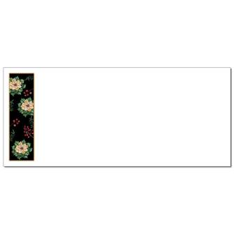 Royal Poinsettias Envelopes - 50 Pack