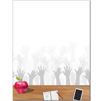 Raise Your Hand Letterhead - 25 pack