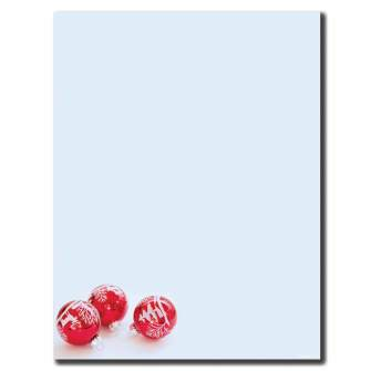 Red Bulbs Letterhead - 100 pack