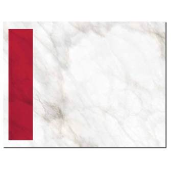 Red Marble Post Card