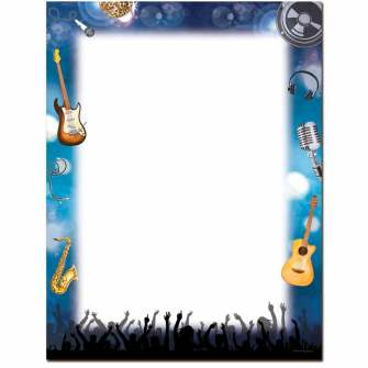 Rock Show Letterhead - 25 pack