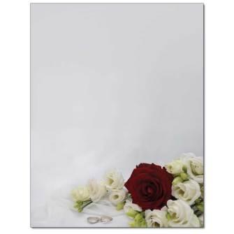 Roses & Toile Letterhead - 100 pack