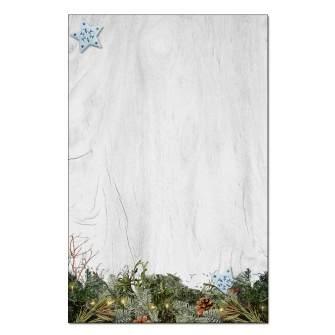 Rustic Pine Jumbo Cards 48pk