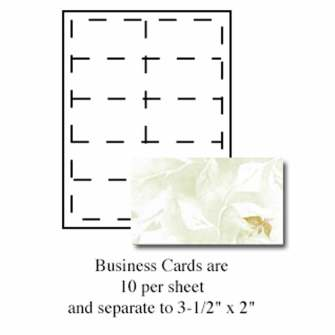 Sage Business Cards