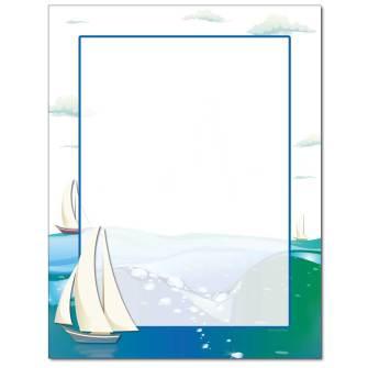 Sailing Letterhead - 100 pack
