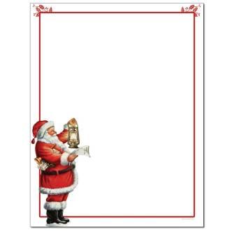 Santa's List Letterhead