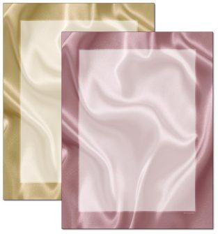 Satin Letterhead - 100 pack