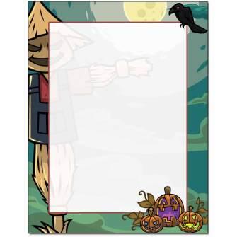 Scarecrow Letterhead - 25 pack
