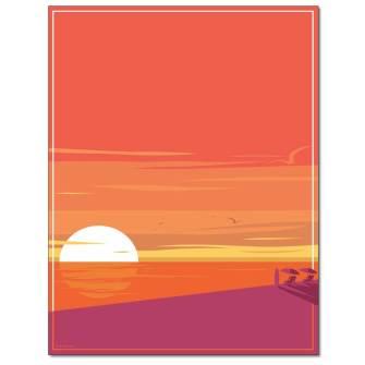 Seaside Shadows Letterhead - 25 pack
