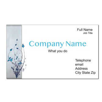 Serenity Custom Business Cards