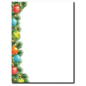 Shiny Brights Letterhead - 100 pack