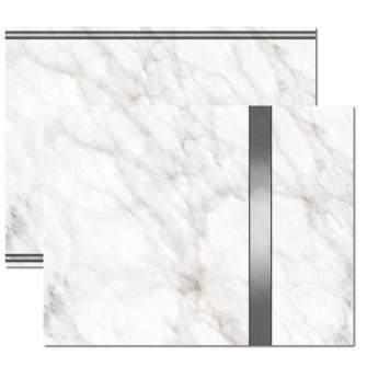 Silver Marble Trifold Brochure