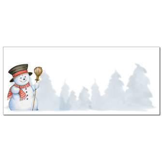 Smiling Snowman Envelope - 25 Pack