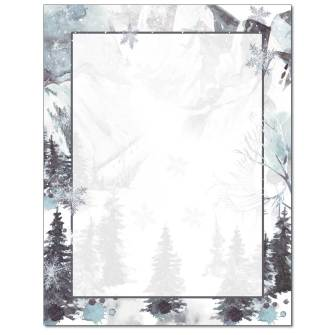 Snow Country Letterhead - 25 pack