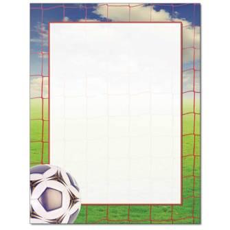 Soccer Goal Letterhead - 100 pack