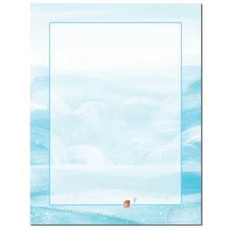 Soft Winter Letterhead - 100 pack