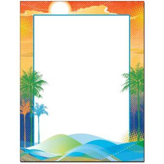 South Beach Letterhead - 100 pack