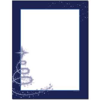 Sparkle Letterhead - 25 pack