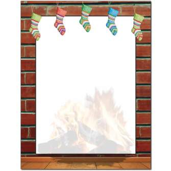 Stockings Are Hung Letterhead - 100 pack