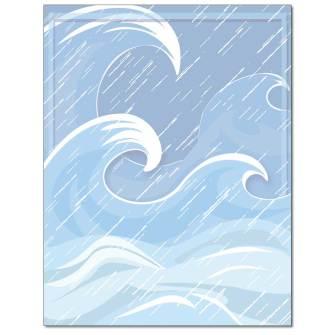Stormy Seas Letterhead - 25 pack