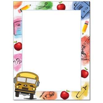 Stuff For School Letterhead - 25 pack