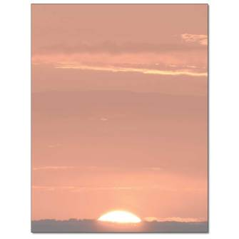 Sunset Letterhead - 25 pack