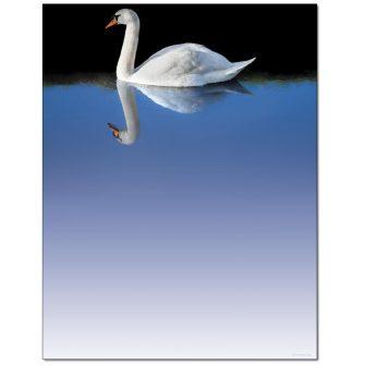 Swan Letterhead - 100 pack
