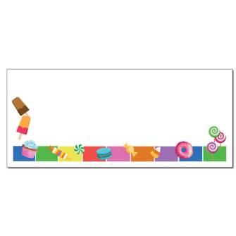 Sweet Treats Envelopes - 25 Pack