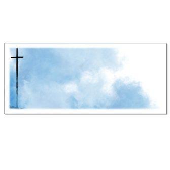 Tall Cross Envelopes - 25 Pack