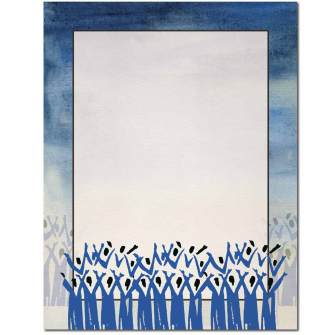 The Choir Letterhead - 25 pack