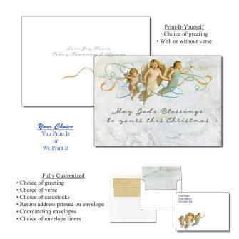 Three Angels Greeting Cards