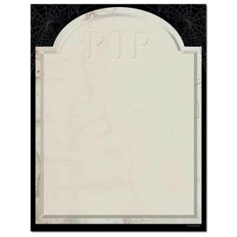 Tombstone Letterhead - 25 pack
