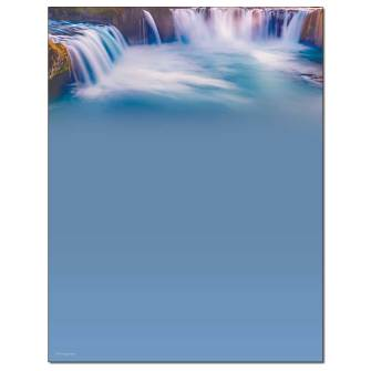 Tranquil Waters Letterhead - 25 pack