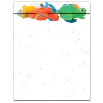 Tub Toys Letterhead - 25 pack